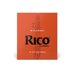 Rico Clarinet Reeds - Box of 10, #2.5