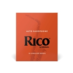 Rico Alto Saxophone Reeds Box of 10 Strength #2.5