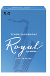 Rico Royal Tenor Sax Reeds Box of 10 Strength #2.5