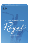 Rico Royal Bari Sax Reeds Box of 10 Strength #3.5