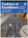 Tradition of Excellence Book 2 - Percussion