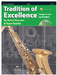 Tradition of Excellence Book 3 - Tenor Sax