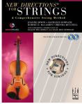 New Directions for Strings Book 2: Violin