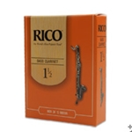 Rico Bass Clarinet Reeds Box of 10 Strength #2