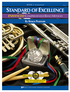 Standard of Excellence Enhanced Book 2 - Alto Sax