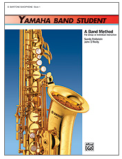 Yamaha Band Student Book 3: Tenor Sax