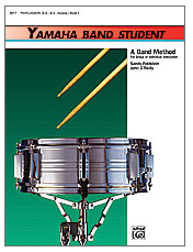 Yamaha Band Student Book 1 - Percussion