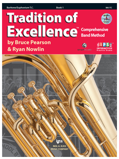 Tradition of Excellence Book 1 - Baritone TC
