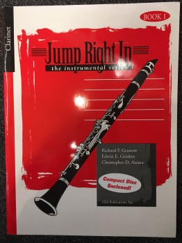 Jump Right In w/ CD: Clarinet