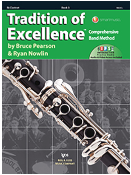Tradition of Excellence Book 3 - Clarinet