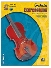 Orchestra Expressions Book 1: Violin