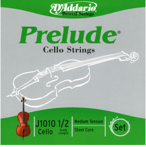D'AddarioPrelude 1/2 size Cello Strings Set