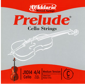 D'Addario Prelude Full Size Cello C String