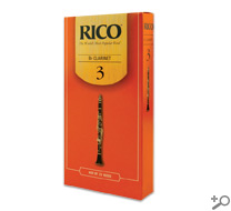 Rico Clarinet Reeds Box of 25 Strength #3