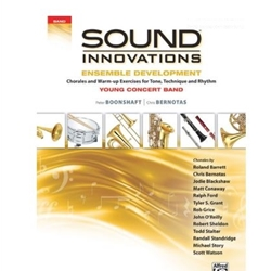 Sound Innovations: Ensemble Development, Young (GOLD): Tenor Sax